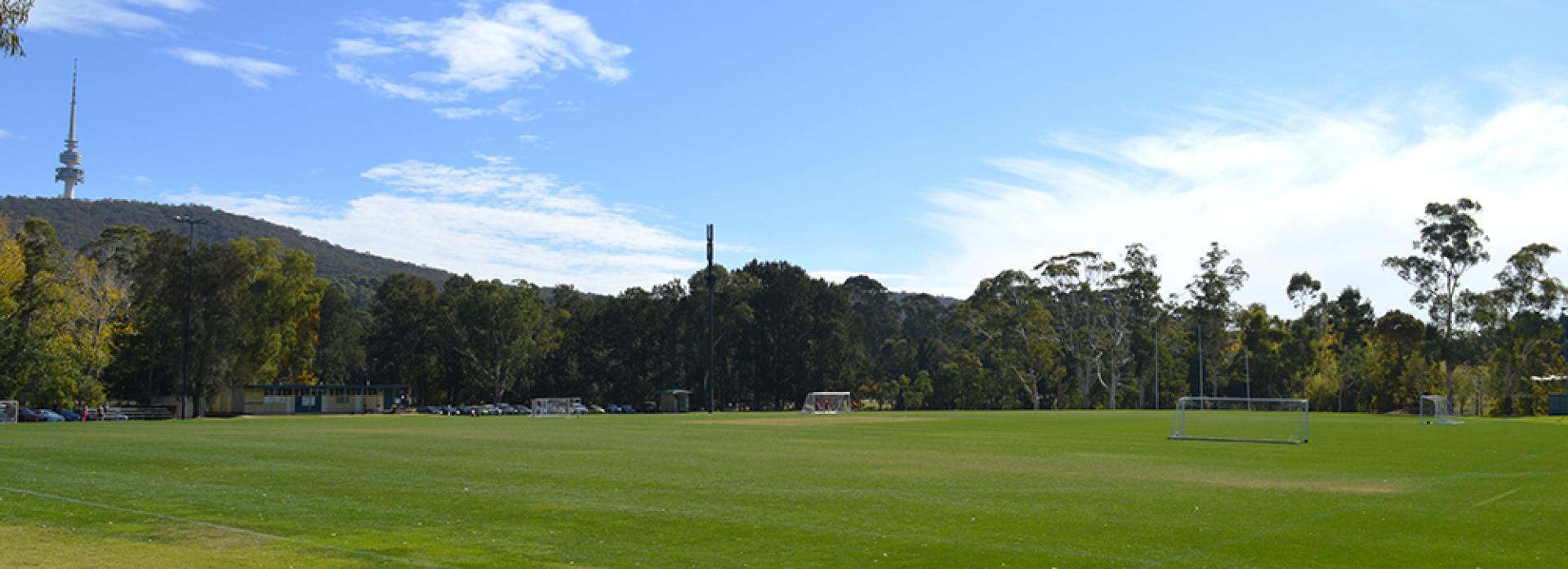 Ovals and Fields   ANU Sport